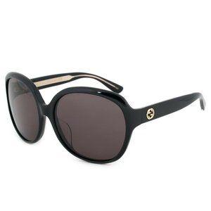 Gucci Oversized Sunglasses GG0080SK 001 61 Frames